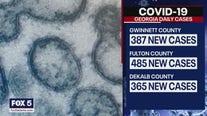 Coronavirus cases in some counties double