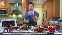 Using fresh cherries
