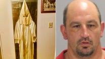Sheriff: KKK robe, meth found during search of Georgia home