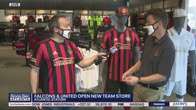 Atlanta Falcons and United fans gear up in new Official Team Store