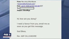 Scammers target churches with phishing emails