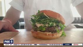 Ecco Buckhead shares a Fourth of July burger