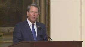 Gov. Kemp pays tribute to the late Rep. John Lewis