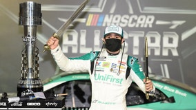 Elliott joins his father as winner of NASCAR's All-Star race