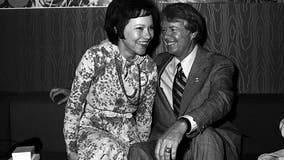 Jimmy and Rosalynn Carter celebrate 74th Valentine's Day as married couple