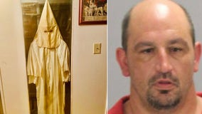 Sheriff: KKK robe, meth found during search of Georgia home