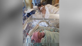 Brooklyn Center man is fighting for his wife's life after she gives birth on ventilator, battling COVID-19