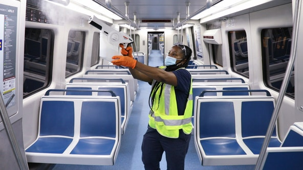 MARTA using high-tech sprayers to quickly disinfect public transportation