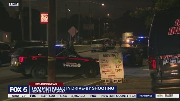 Police: 2 men killed in drive-by shooting in northwest Atlanta