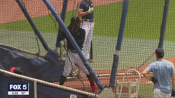 Braves start summer camp with COVID-19 safety precautions