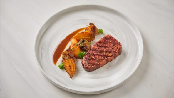 3D 'Alt-Steak' printed using plant-based 'fat, blood and muscle'
