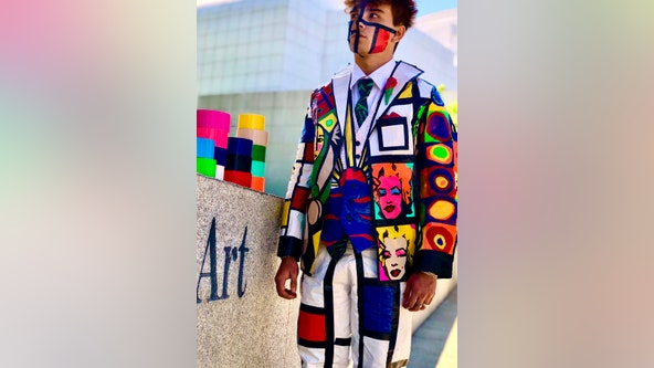 Marietta teen wins 'Stuck at Prom' scholarship contest with duct tape tuxedo