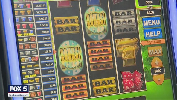 Illegal cash payments at gas station slot machines