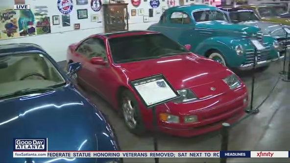 Classic car museum cruises to new location