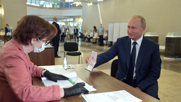 Russians voters agree to extend Putin's rule to 2036