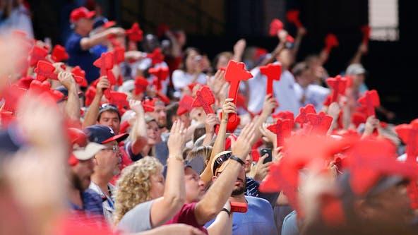 Atlanta Braves to keep name, look into famed 'tomahawk chop' celebration