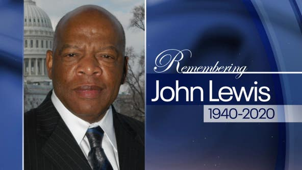 Funeral service for Rep. John Lewis taking place in Atlanta
