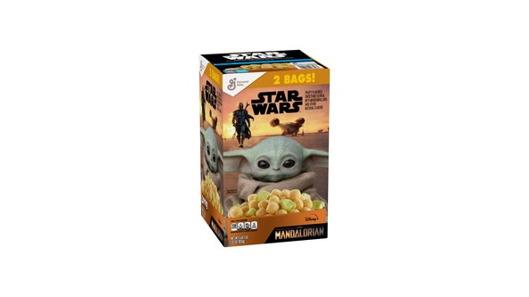 'The Child has arrived': 'Mandalorian'-inspired cereal gives you a taste of Galaxy's Edge