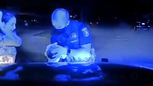 Sterling Heights police officer saves family's choking 3-week-old baby