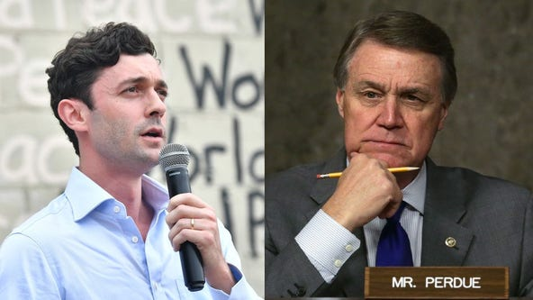 Familiar refrain by Perdue, Ossoff in Georgia Senate debate