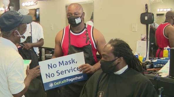 DeKalb County mask mandate begins