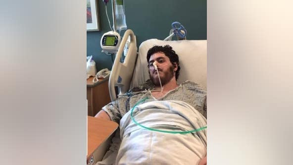 Man released from hospital after lengthy battle with COVID-19