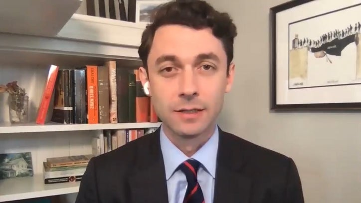 Jon Ossoff awaiting COVID-19 results after wife tests positive for ...