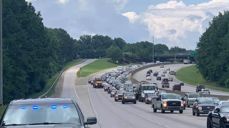 Lanes reopen after major crash on GA 400