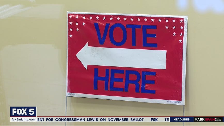 State Farm Arena transforms into nation's largest voting precinct