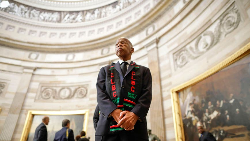 John Lewis to lie in state in the Capitol Rotunda
