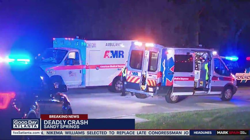 GSP: Driver dies after crashing stolen vehicle along GA 400