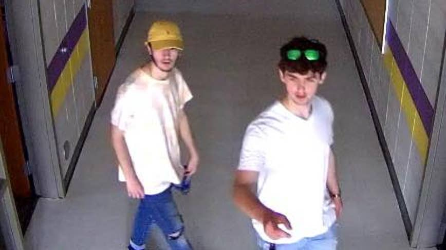 Deputies release photo of suspects wanted for vandalizing Jasper County elementary school