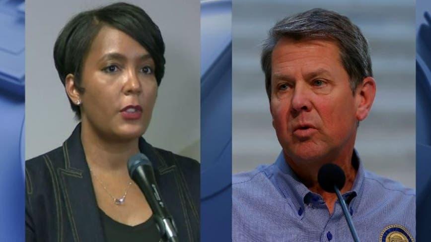 Final day of mediation for Atlanta mayor, Georgia governor