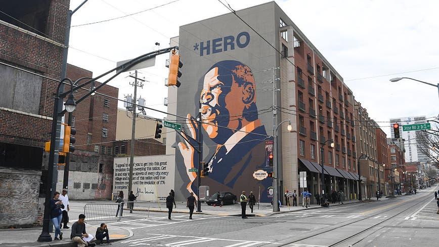 Atlanta mayor orders flags lowered to half-staff to honor John Lewis