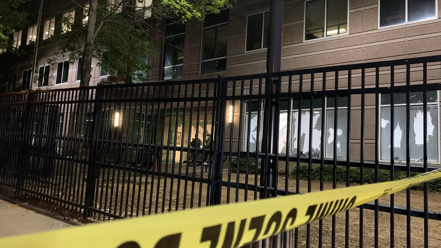 ICE's Atlanta field office targeted in overnight destructive demonstration