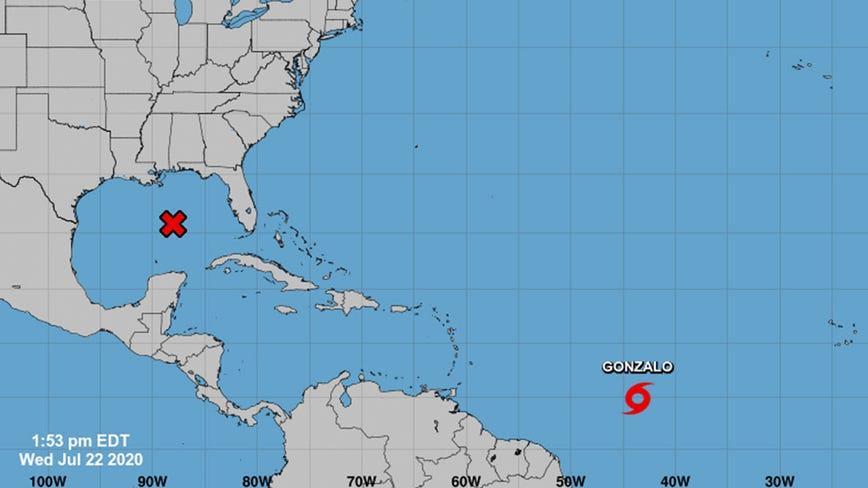 Hurricane Douglas becomes 1st of season in eastern Pacific as Gonzalo brews in Atlantic