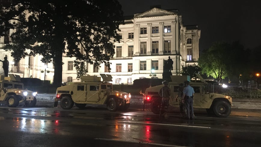 Kemp renews order to keep 1,000 Georgia National Guard troops protecting state buildings