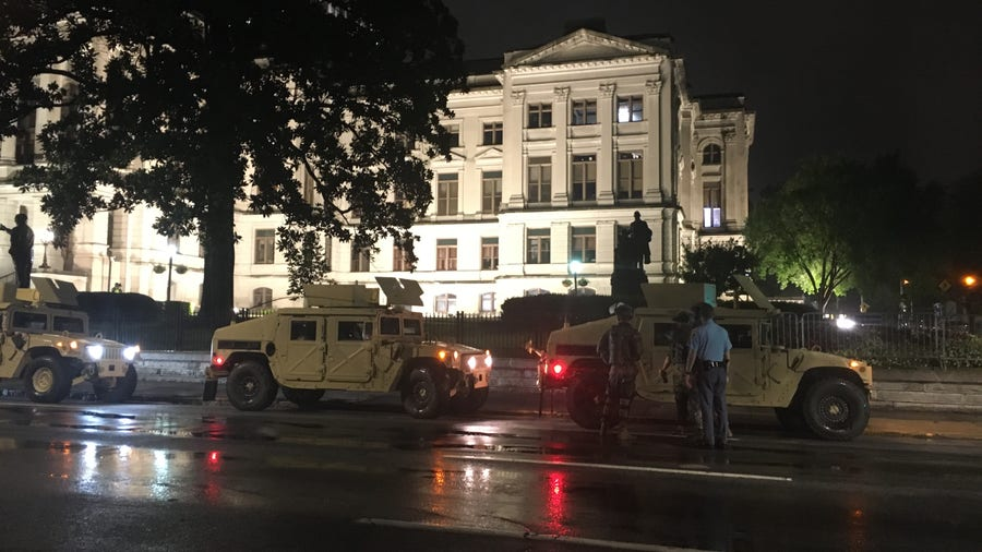 1,000 Georgia National Guard troops called up to protect state buildings