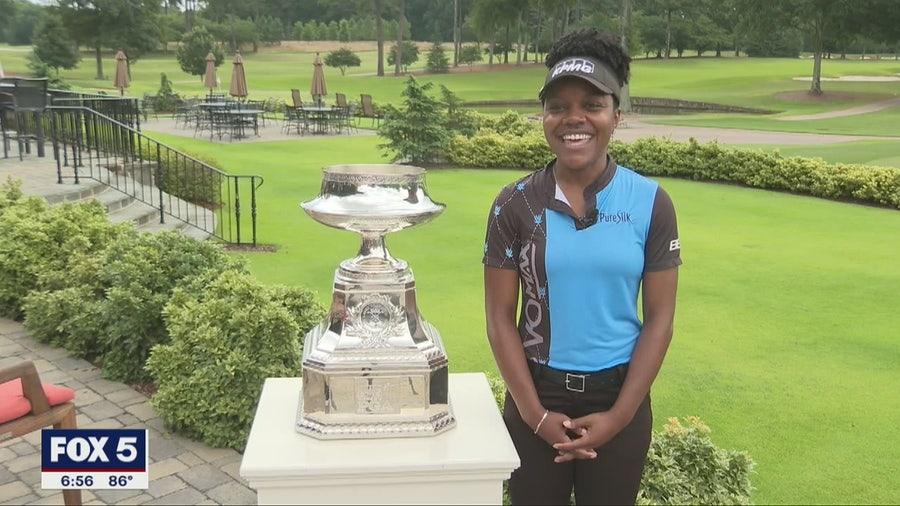 Atlanta LPGA golfer looks ahead to major in her hometown
