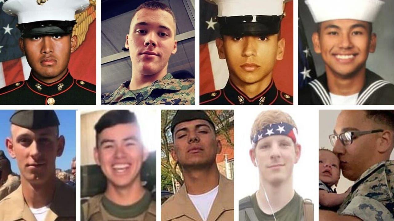 Trump says of 9 service members killed...