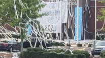 Marietta students pull off huge toilet paper prank at high school
