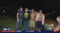 Teens save friend from river