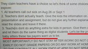 Gwinnett County parents furious about teacher's controversial Facebook post