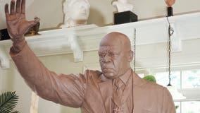 Statue created to honor late Rep. John Lewis