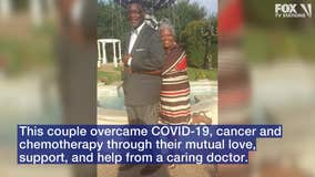 High school sweethearts overcome COVID-19, cancer, chemo with help of caring doctor
