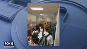 Students who shared viral photo of crowded Paulding County school says her suspension has been lifted