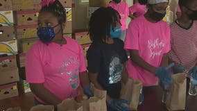 9-year-old Georgia girl spends birthday serving those in need