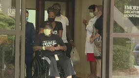 COVID-19 patient released from Emory Hospital after more than 3 months