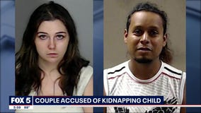 Georgia police: Couple 'intended to raise' abducted baby