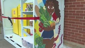 Atlanta entrepreneur battles food insecurity with community fridges